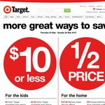 Target 50% off all NERF
