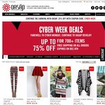 Oasap Apparel: Cyber Week Deals Up to 75% OFF for Selected Items + Everything Free Shipping