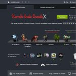 Humble Bundle X: [STEAM] Pay What You Want for 4 Games + BTA
