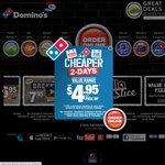 3x Traditional Pizzas, 2x Garlic Bread, 2x 1.25 L Cokes. $29.95 Delivered. Domino's