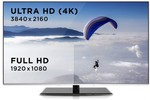 "Kogan 55"" Agora 4K Smart 3D LED TV (UltraHD) $999 was $1499*"