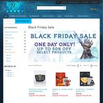 Blizzard Gear Store Black Friday Sale - up to 50% off