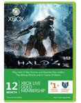 Xbox Live 12+1 Month Gold + Halo 4 Emblem: $36.95 US (~ $44.99 AUD) Using 5% Discount (FB Like) @ CD Keys