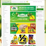 Spend $100 or More and Get $10 off - Woolworths Online (TASMANIA Only)