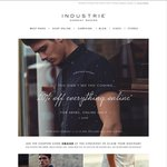 20% off Industrie Online for 48hrs