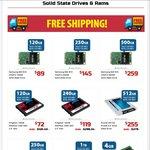 Crucial MX100 512GB $255 Free Shipping @ Shopping Express