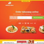 Delivery Hero $10 off (Today Only - No Restrictions)