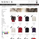 $25 off + $5.95 Shipping @ Noni B Online