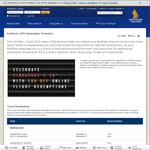 50% off Singapore Airline Krisflyer Redemption Rate (Economy Saver only)