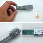 Transparent Digital Thermometer & Suction Cap US $0.70 (AUD $0.95) Delivered @ Newfrog