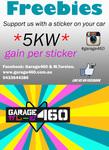 Free Garage460 Bumper Stickers