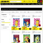 The Simpsons DVDs 2 for $24 at JB Hi-Fi (in-Store, Click and Collect) or 2 for $25.98 Delivered