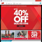 New Balance 40% off Storewide + Free Delivery - Online Only