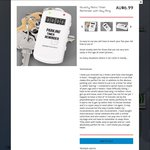 Novelty Timer Reminder with Key Ring - $6.99 + Free Shipping @ Qicklock