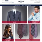 TM Lewin - Mens Suits $359, Mens Shirts $40, 10% off Everything Else