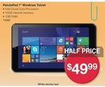 "50% off PendoPad 7"" Windows 16GB Tablet $49.99, Padded Mail Bags 100pk from $40.50 @ Australia Post"