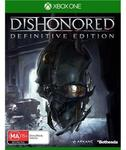 Dishonoured DE XBone $29 Wolfenstein TNO PS4 $29 @ JB Hi-Fi