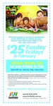 Discount Entry to Funfields, VIC - Fridays in February - $25 Each over 100cm (Save up to 37.5%)