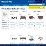 Outdoor Sofas & Settings Clearance Items @ Masters