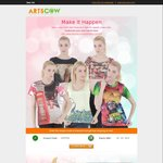 Customised T-Shirts for US $6.99/~AU $9 Delivered @ ArtsCow