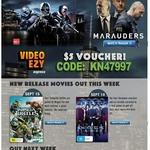 Video Ezy Express Movie Kiosk $5 Voucher