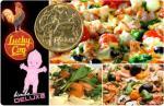 $1 Gourmet Pizzas! at Lucky Coq or Bimbos Melbourne