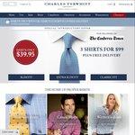 3 for $99 - Charles Tyrwhitt Shirts + Free Shipping
