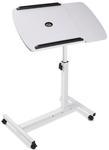 Rotating Mobile Laptop Adjustable Desk w/ USB Cooler - Black or White $38 (Save $11) - Free Shipping @Shoppingjoey
