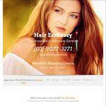 $29 Wash & Blow Wave Special Today (Normally $49) for up to Medium Hair Length @ Hair Embassy (Airport West, VIC)