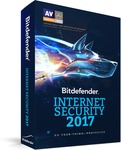Bitdefender Internet Security 2017 (1 Year Subscription) - $20.17