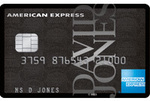 David Jones American Express Card - $99 Annual Fee, 30,000 DJ Membership Rewards Points or 22,500 Qantas Points