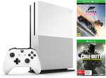 Xbox One S 500GB Console + Forza Horizon + COD Infinite Warfare Games $349 @ BIG W