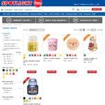 Yankee Candle Samplers & Tarts All $2 Ea (RRP $4.99) @ Spotlight
