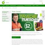 [WA] Sausage Roll, Oak Plus 500ml, Oak 600ml, V Energy 250ml or Maximus 1ltr - $2 @ BP (Tuesdays)