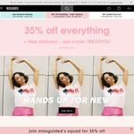 Missguided Free Delivery to Australia - No Minimum Spend or Restrictions on Usage