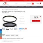 Hoya HMC 58mm UV & Hoya 58mm Cir-PL Filter Bundle $49 with Free Shipping, Plus More at DC Cameras