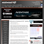 Yamaha AV Receivers RX-V383 $299 RX-V483 $549 RX-V683 $849 RX-V1083 $1499 from Eastwood Hifi Sydney