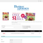 Better Homes and Garden Magazine $3 for 3 Issues Delivered (Save 85%)