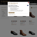 $150 USD off Selected Allen Edmonds Shoes (Approx $400 AUD Shipped)