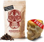 Free Killer Skull Glass with Purchase Killer Coffee Co - from $31 @ Adore Estate Coffee