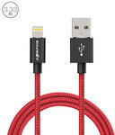 BlitzWolf BW-MF5 2.4a Lightning to USB Braided Data Cable 3.33ft/1m with MFI for US $6.99 (~AU $9.37) Delivered @ Banggood