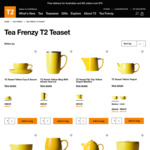 T2 TeaFrenzy - T2 Teaset from $15