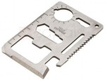 Stainless Steel Multi Tool Card for Outdoor Activities US$0.20 (~AU $0.26) Delivered @ Zapals