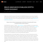 FREE BAT (Basic Attention Token)  from Brave