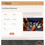 Free 170ml Bottle of Cold Brew Specialty Coffee Delivered @ Danes (NSW Addresses Only)