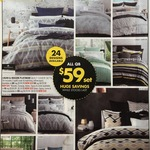 Logan & Mason Luxury Bedding Quilt Cover Sets from $39(S)-$69(K) Save>$160 @ Spotlight