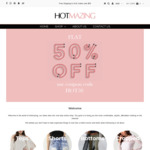 50% off All Female Clothing at HotMazing