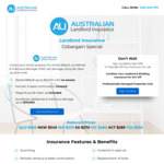 $20 off Landlord Insurance Nationwide @ Australian Landlord Insurance