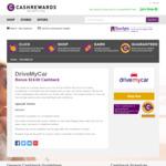 Cashrewards Bonus $20 Cashback on Car Rentals @ DriveMyCar