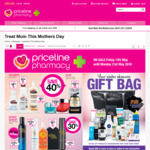 Free Gift Bag with Products (Worth > $200) with $69 Skin Care/Sun Care/Tanning Purchase Selected Brands, 40% off Olay @Priceline